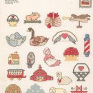 Mini Motif Folk Art Graphworks No. 24 Deborah B Bartley Cross Stitch