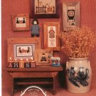 The Amish IV Quilting Bee by Homespun Elegance LTD.  Number 54 Cross Stitch