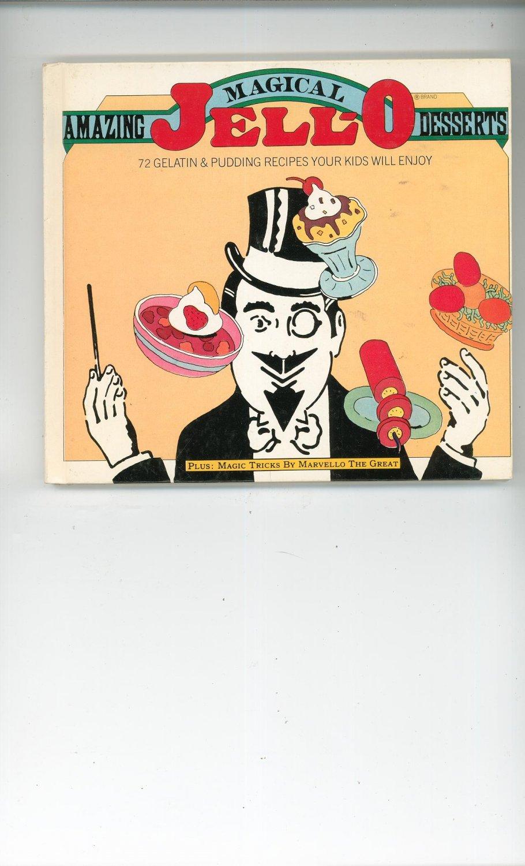 Amazing Magical Jello Desserts Cookbook 0671246496199