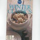 Vintage Pillsbury Winter Classics Cookbook Number 1  1979