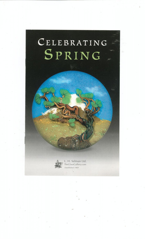 Celebrating Spring Catalog / Brochure by L. H. Selman Ltd. Paperweights