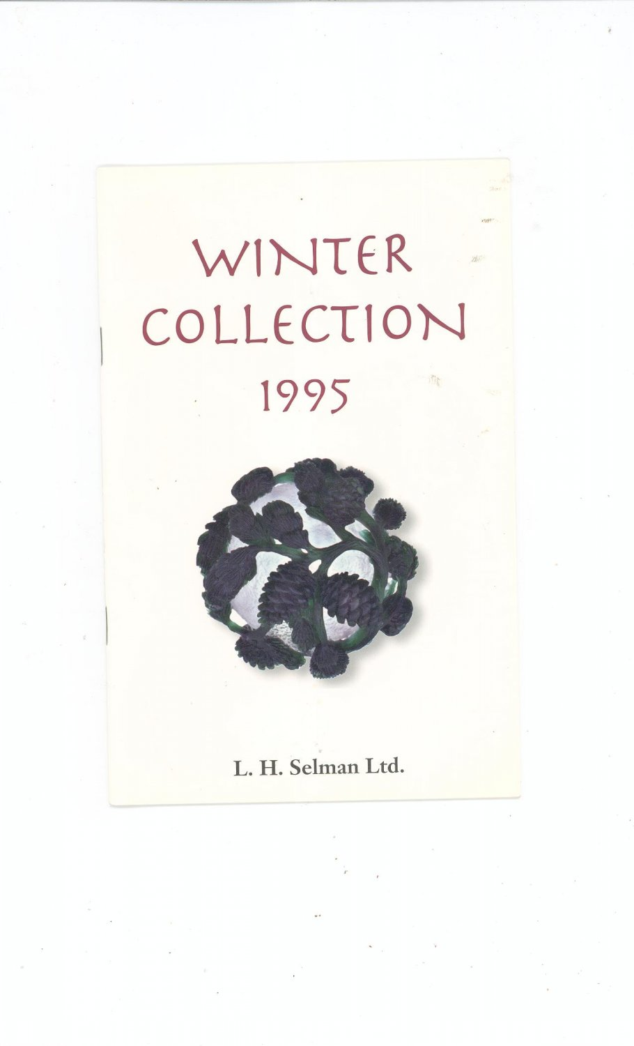 Winter Collection 1995 Catalog / Brochure by L. H. Selman Ltd. Paperweights
