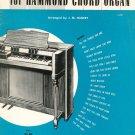 The Jerome Kern Album For Hammond Chord Organ Vintage J. M. Hanert