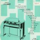 Victor Herbert  Album For Hammond Chord Organ Vintage J. M. Hanert