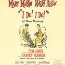 Vintage I Do I Do David Merrick  Sheet Music 1966