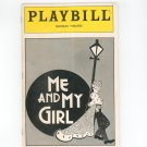Playbill Me And My Girl Marquis Theatre Play Bill Souvenir