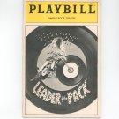 Playbill Leader Of The Pack Ambassador Theatre Play Bill Souvenir