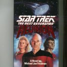 Star Trek The Next Generation Reunion Friedman Hard Cover First Edition 0671748084