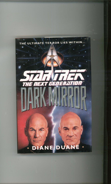Star Trek The Next Generation Dark Mirror Duane Hard Cover First Edition 0671793772