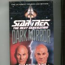 Star Trek The Next Generation Dark Mirror Duane Hard Cover First Edition 0671793772