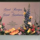 Regional Great Recipes From Great Gardeners Cookbook Pennsylvania Horticultural 0963749404