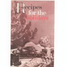 Regional Recipes For The Holidays Cookbook New York State Electric & Gas