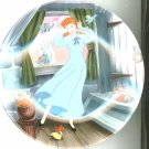 Cinderella A Dream Is A Wish Your Heart Makes Collector Plate With Certificate
