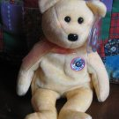 Ty Sunny Bear With Tag Retired Beanie Baby