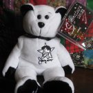 Signature Series Classic Collecticritters Jerry Lewis 1 Beanie Stuffed Plush Bear