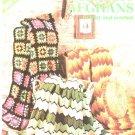 Vintage Classic Afghans Knit & Crochet Leisure Arts Leaflet 44
