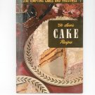 250 Tempting Cakes And Frostings #3 Cookbook Vintage 1951  Culinary Arts Institute