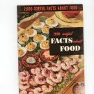 2000 Useful Facts About Food #23 Reference / Guide Vintage 1950  Culinary Arts Institute