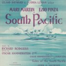 Vintage Bali Ha'i South Pacific Sheet Music Williamson Music Inc. Chappell & Co.