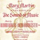 Vintage Climb Ev'ry Mountain Sheet Music Sound Of Music Williamson Music