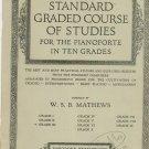 Vintage Standard Graded Course Of Studies Pianoforte Grade 3 Theodore Presser Co.