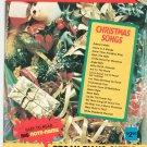 Christmas Songs Vintage Golden Music Big Note 4 Piano Organ Guitar Chord Organ 1976