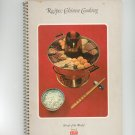 The Chinese Cooking Recipes Cookbook Vintage 1974