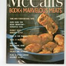 Vintage McCall's Book Of Marvelous Meats Cookbook M6 1972 Edition McCalls Mc Calls