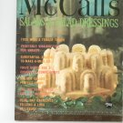 Vintage McCall's Salads And Salad Dressings Cookbook M4 1965 McCalls Mc Calls