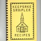 Regional Keepsake Sampler Recipes Cookbook Methodist Church New York 1980