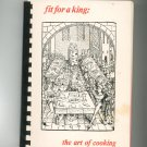 Regional Vintage Fit For A King The Art Of Cooking Cookbook Maryland Walters Art