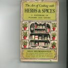 Vintage The Art Of Cooking With Herbs And Spices Cookbook Miloradovich 1950