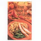 From Simple To Special Cookbook Uncle Bens Rice