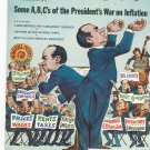 Vintage The American Legion Magazine January 1972 Some A,B,C's Of The President's War On Inflation