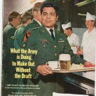 Vintage The American Legion Magazine April 1971 What The Army Is Doing Without The Draft
