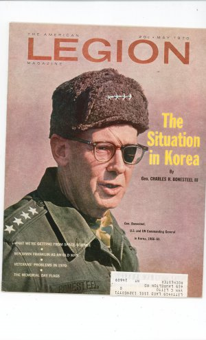 Vintage The American Legion Magazine May 1970 The Situation In Korea