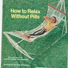 Vintage The American Legion Magazine October 1970 How To Relax Without Pills
