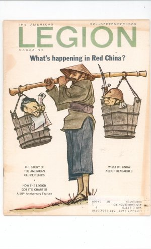 Vintage The American Legion Magazine September 1969 What's Happening In Red China