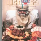 A Taste For Heroes NFL Football Hall Of Fame Cookbook First Edition