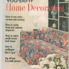 Vintage McCall's You Do It Home Decorating Fall Winter 1967 McCalls