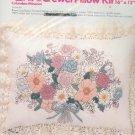 Columbia Minerva Brown Line Floral Pillow Kit 7910