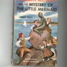 Vintage The Happy Hollisters And The Mystery Of The Little Mermaid Jerry West Hard Cover Dust Jacket