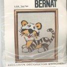 Tipsy Tiger Picture Kit Crewel By Bernat Number S 9120