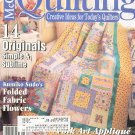 McCall's Quilting Magazine Back Issue August  2001