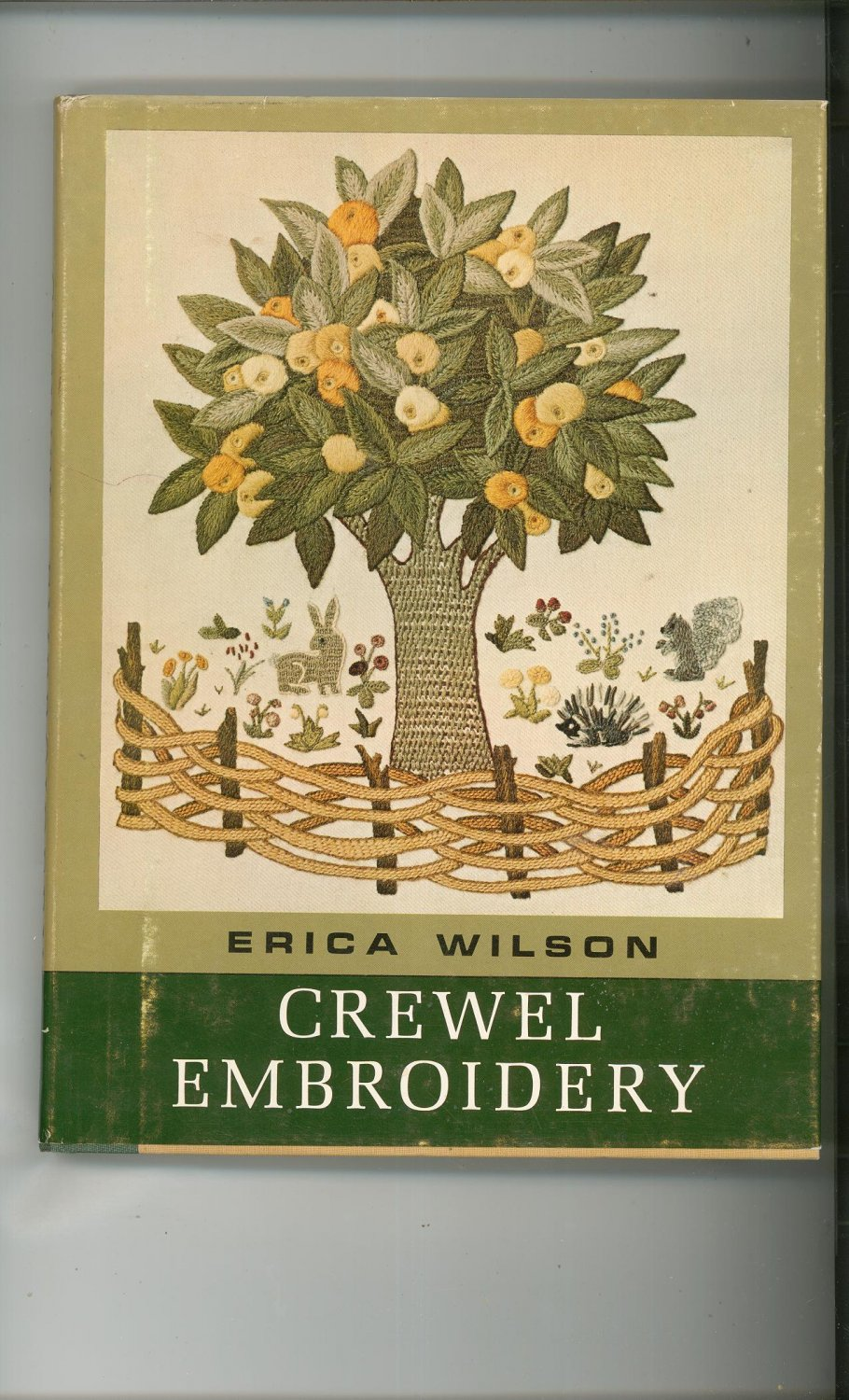 Vintage Crewel Embroidery By Erica Wilson 1962 Instructional