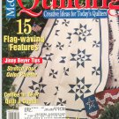 McCall's Quilting Magazine Back Issue August 2002