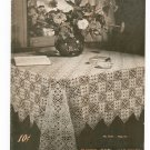 Crochet For Tables Clarks O.N.T J & P Coats Book Number 202 Vintage 1943