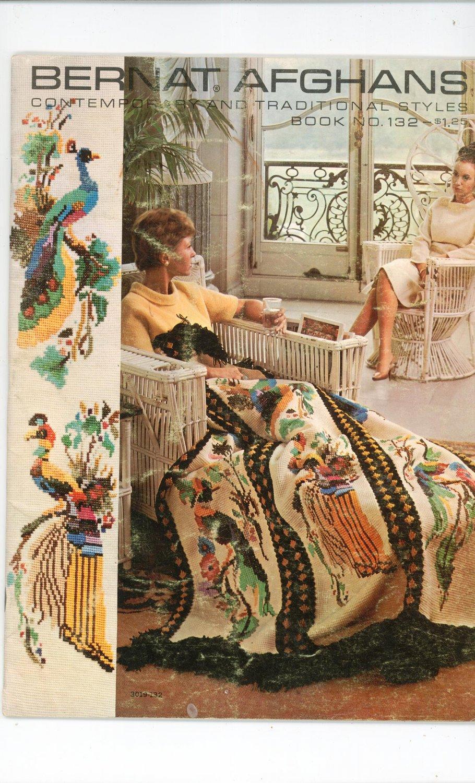 Vintage Bernat Afghans Number 82 1966
