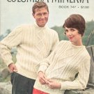 Vintage Festival Of Sweaters By Columbia Minerva Book 747