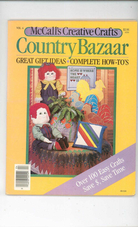 McCall's Creative Crafts Country Bazaar Volume 4
